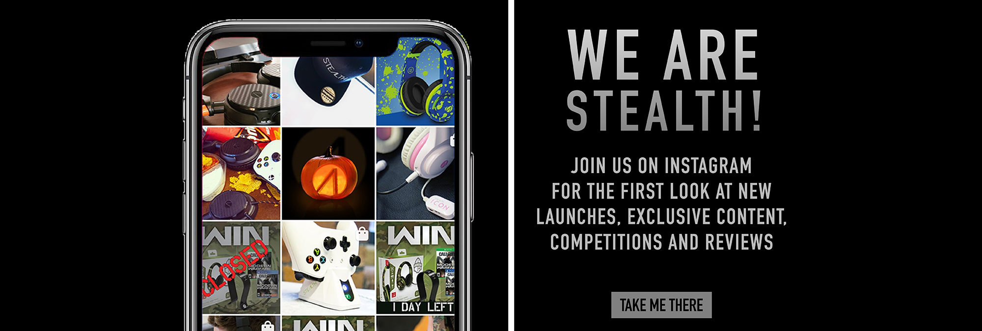 JOIN STEALTH ON INSTAGRAM!