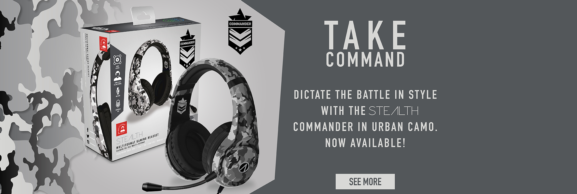 THE STEALTH COMMANDER… COMING SOON