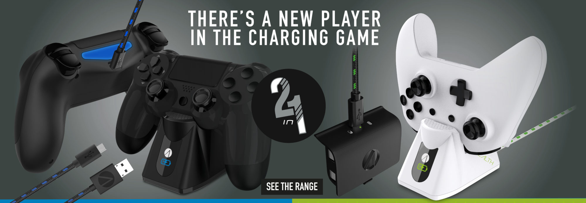 Introducing the STEALTH Charging Range!