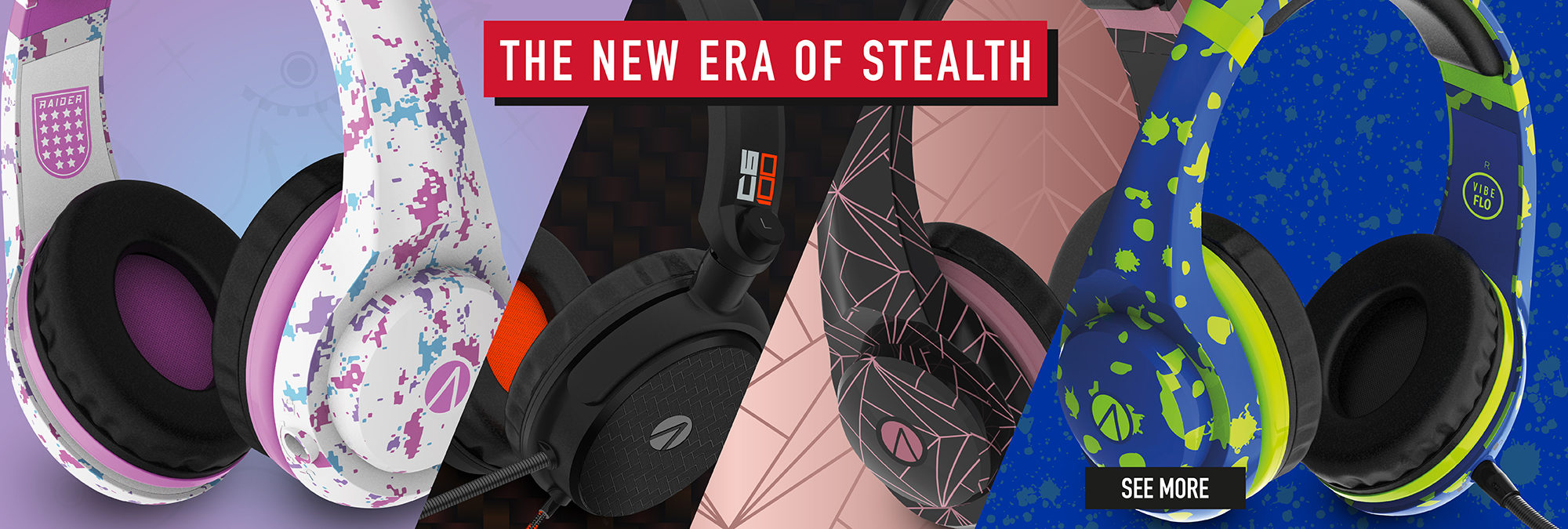 The NEW ERA of STEALTH Gaming Accessories! See the NEW Collection here!