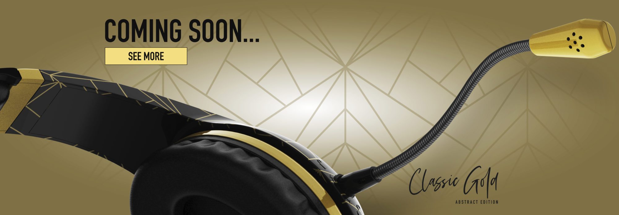 STEALTH Classic Gold ABSTRACT EDITION. Coming Soon…