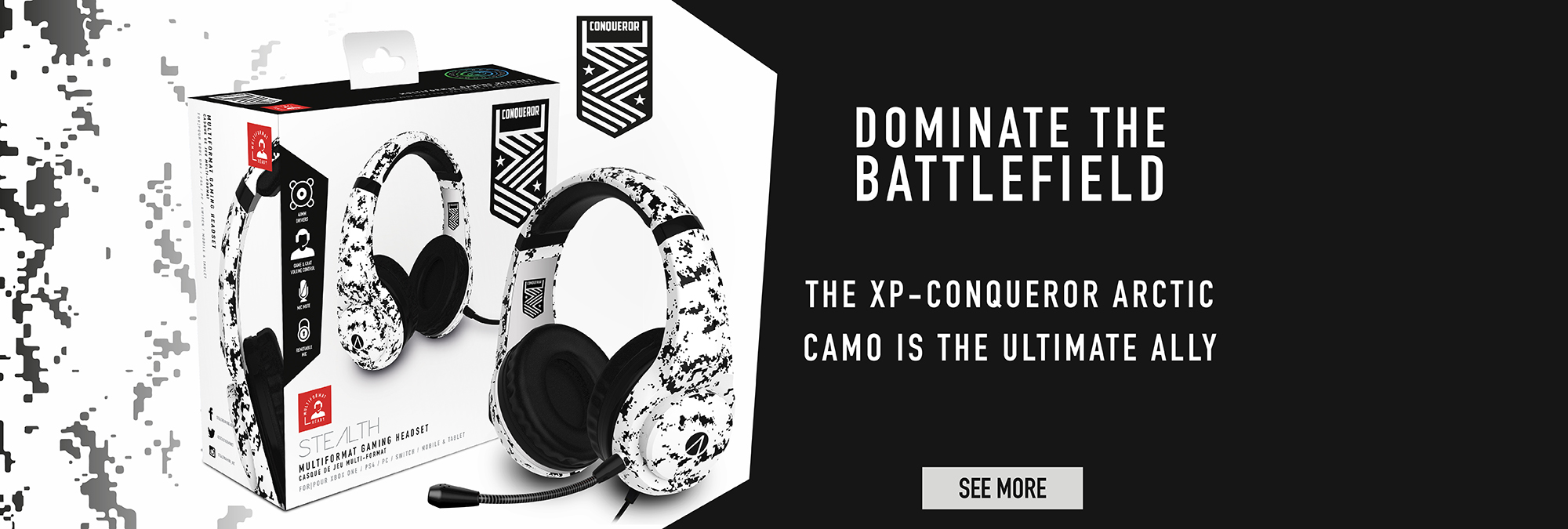 CONQUER THE BATTLEFIELD…. THE STEALTH CONQUEROR